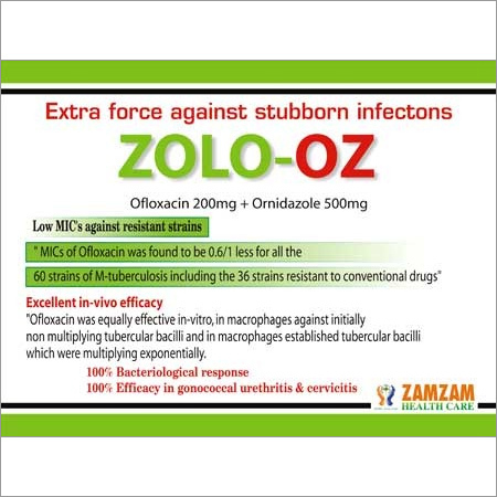 Zolo-OZ Anti Infection Tablets