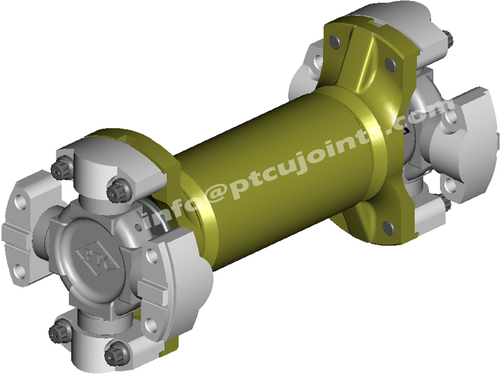 HM 1035 universal joint shaft assembly