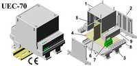 Plastic Electronic Enclosure 112*78*75