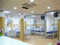 Soflex Ceiling Mount Hospital Screens