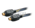 FIREWIRE IEEE 1394 cable 4p male to 4p male cord gold plated with nylon mesh - 10 Meters