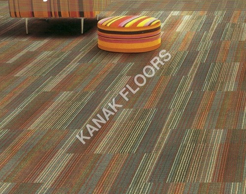 Interface Carpet Tile With Glass cloth bac