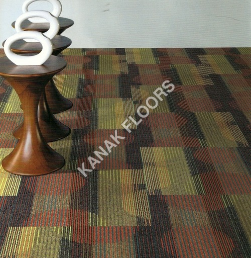 Shaw Carpet tiles With PVC Glass Cloth Bac