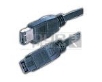 FIREWIRE IEEE 1394B 9 pin to 6 pin cord - 1.8 Meters
