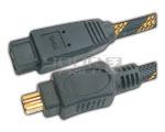 FIREWIRE IEEE 1394B 9 pin to 4 pin cord - 1.5 Meters