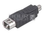 FIREWIRE IEEE 1394 6 Pin Female to 4 Pin Male - Fire Wire Adaptor