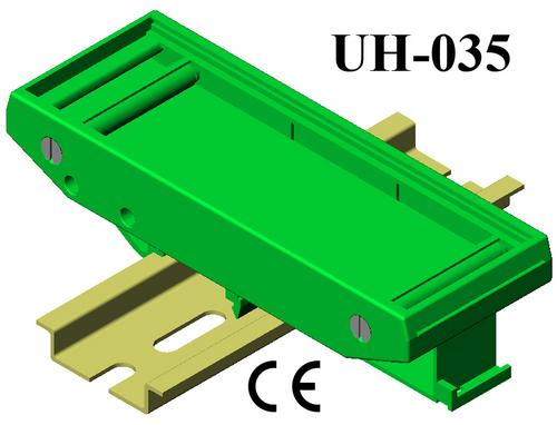 DIN Rail Plastic PCB board holders PCB 108*37.5
