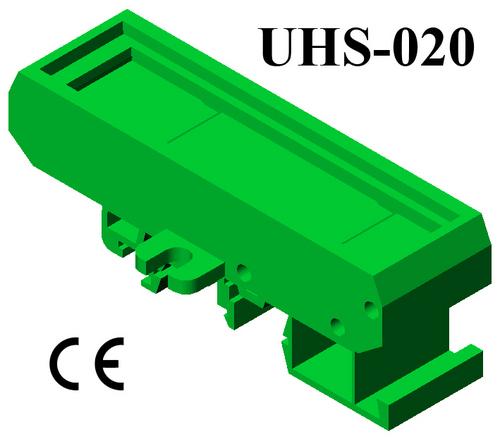 DIN Rail Plastic PCB board holders PCB 72*20