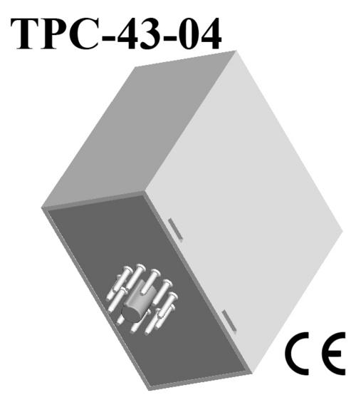 Plastic 11 Pin Plug-in Housings 76*78*44