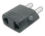 vUniversal 2 pin Conversion Plug CONVERSION PLUG 3 IN 1