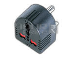 UNIVERSAL CONVERSION PLUG - 3 PIN WITH CHILD SAFETY SHUTTER