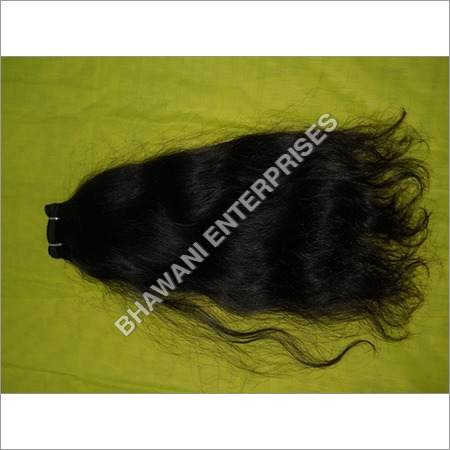 Machine Weft Wavy Hairs