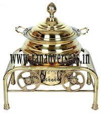 BRASS METAL CATERING SERVING DISH