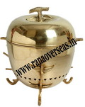 BRASS METAL OVAL SHAPE CHAFING DISH