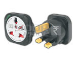 UNIVERSAL CONVERSION PLUG 3 PIN WITH LIGHT & CHILD SAFETY SHUTTER