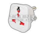 Universal Conversion plug 3 pin with shutter