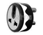 3 pin universal ROUND conversion plug - 5 Amperes
