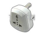 Universal Conversion plug 3 pin - 15 Amperes to 5 Amperes