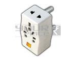 3 Pin Multi Plug Adaptor - 15 Amperes