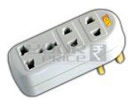 3 Way Universal Multiplug Adaptor