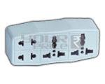 4 Way Universal Multiplug Conversion Plug