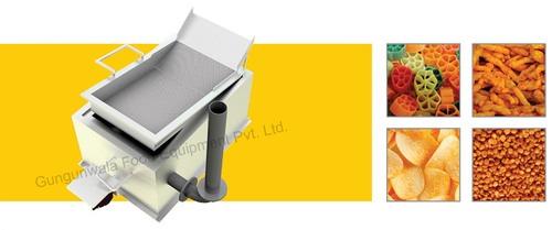 Rectangular Fryer Direct Heating System Capacity: 130/200/300Kg /Hrs Kg/Hr