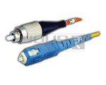 FC/PC - SC/PC Patch Cord, Single Mode, Simplex, Length 10 Meters