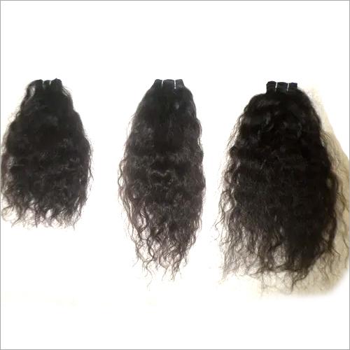 Weft Curly Hair