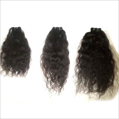 Weft Curly Hair