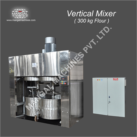 Vertical Double Spindle Dough Mixers.