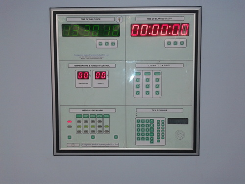 Surgeon Control Panel-Touch Screen Control Panel