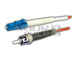 LC/PC - ST/PC Patch Cord, Single Mode, Simplex, Length 3 Meters