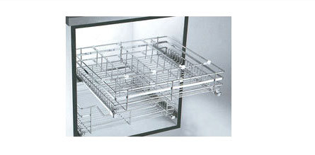 Adjustable Steel Baskets