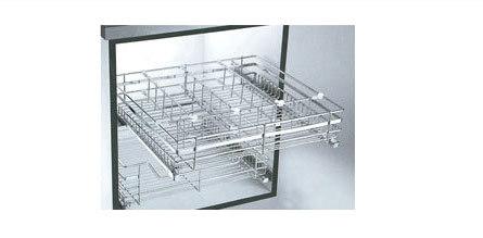 Stainless Steel Glass kitchen Baskets