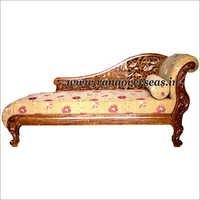 Wooden Carved Diwan Cushion