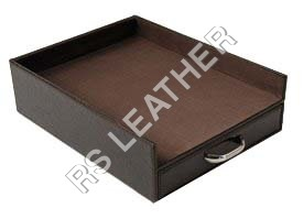 Leather Letter Trays
