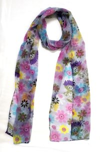 Om Printed Cotton Stole