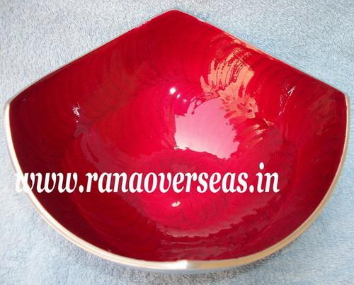 Polished Aluminium Fruit Bowl