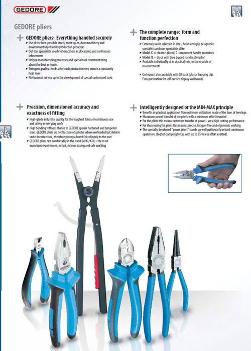 Gedore pliers