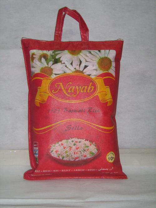 Sella Basmati Rice Bags