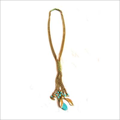 hand made gemstone necklace