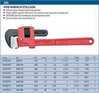Gedore  Pipe Wrench  Stillson