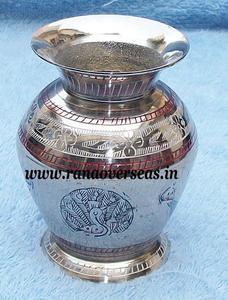Silver Plated Flower Vase
