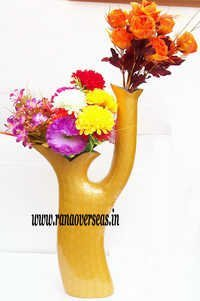 Aluminium Metal Flower Vase in 27 inches