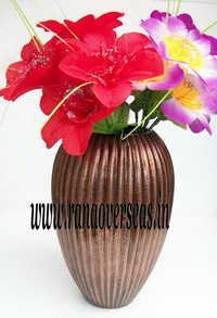 Aluminium Metal Flower Vase in 10 inches