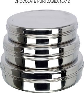Steel Chocolate Dabba