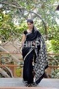 Bagru Print Cotton Saree
