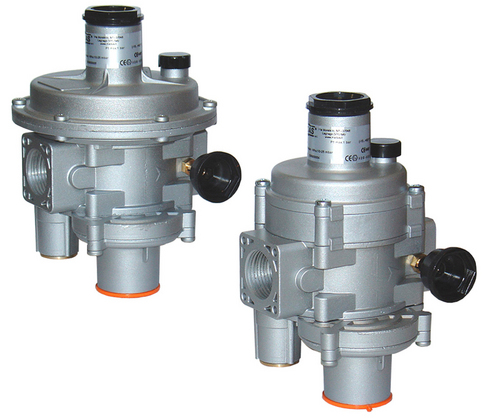 Natural Gas Pressure Regulators