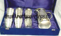 Engraved Silver Plated Set
