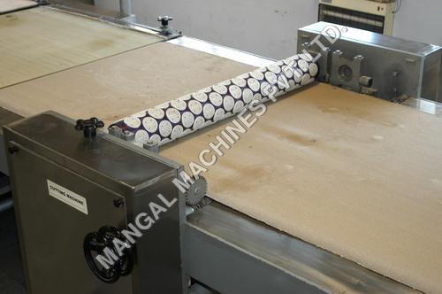Twin Roll Biscuit Cutting Machine